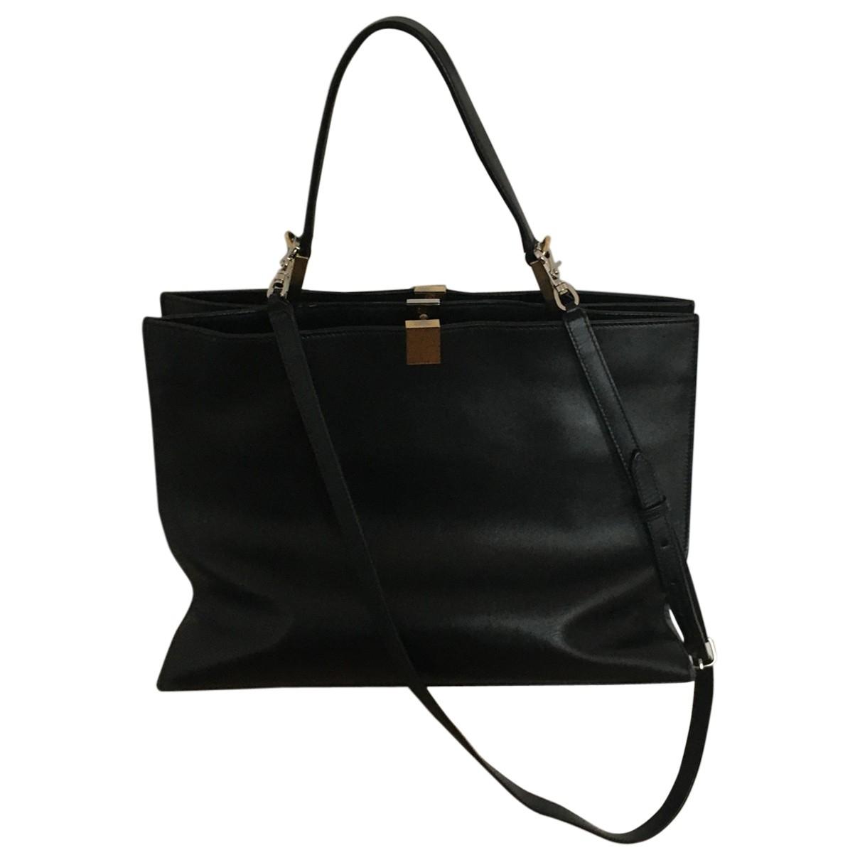 Balenciaga Le Dix Black Leather handbag for Women \N