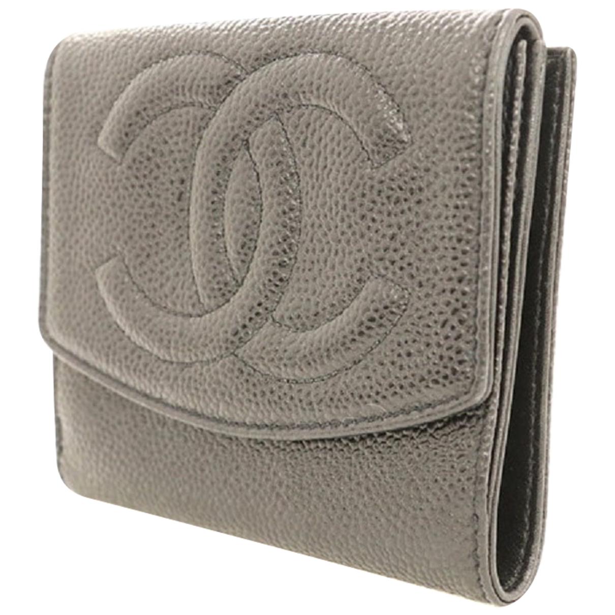 Chanel - Portefeuille   pour femme en autre