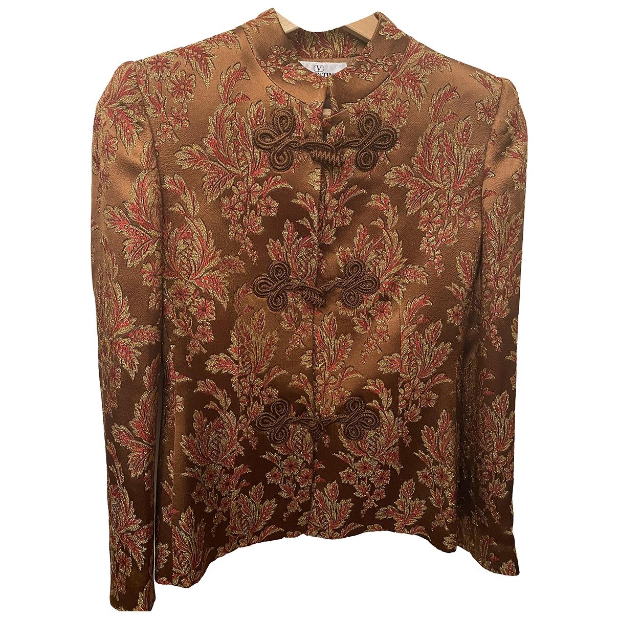 Valentino Garavani \N Brown jacket for Women 38 IT