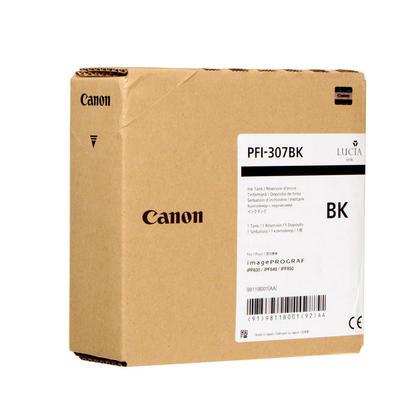 Canon PFI-307BK 9811B001 Original Black Ink Cartridge