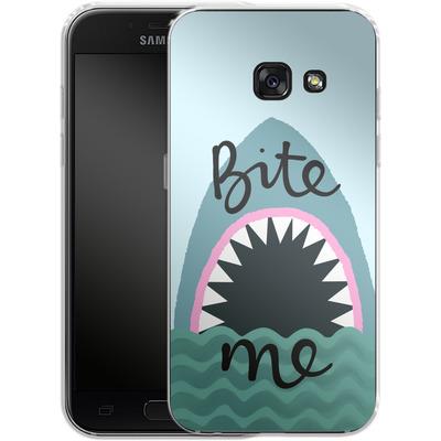 Samsung Galaxy A3 (2017) Silikon Handyhuelle - Bite Me von caseable Designs