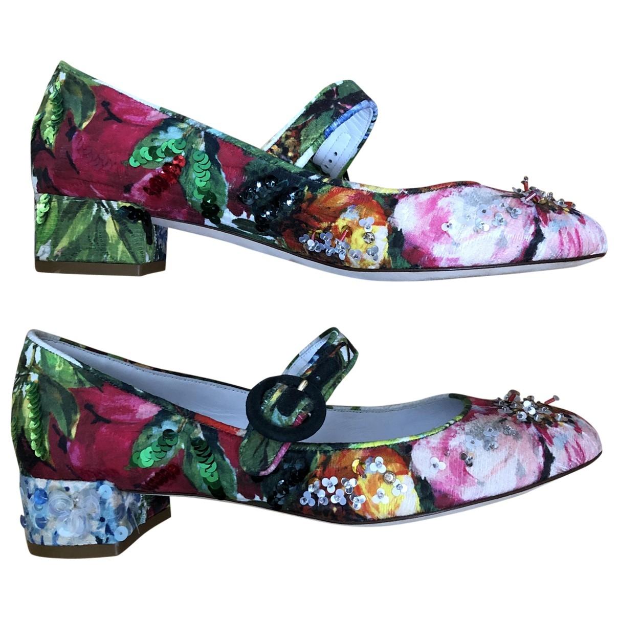 Dolce & Gabbana - Ballerines   pour femme en a paillettes - multicolore