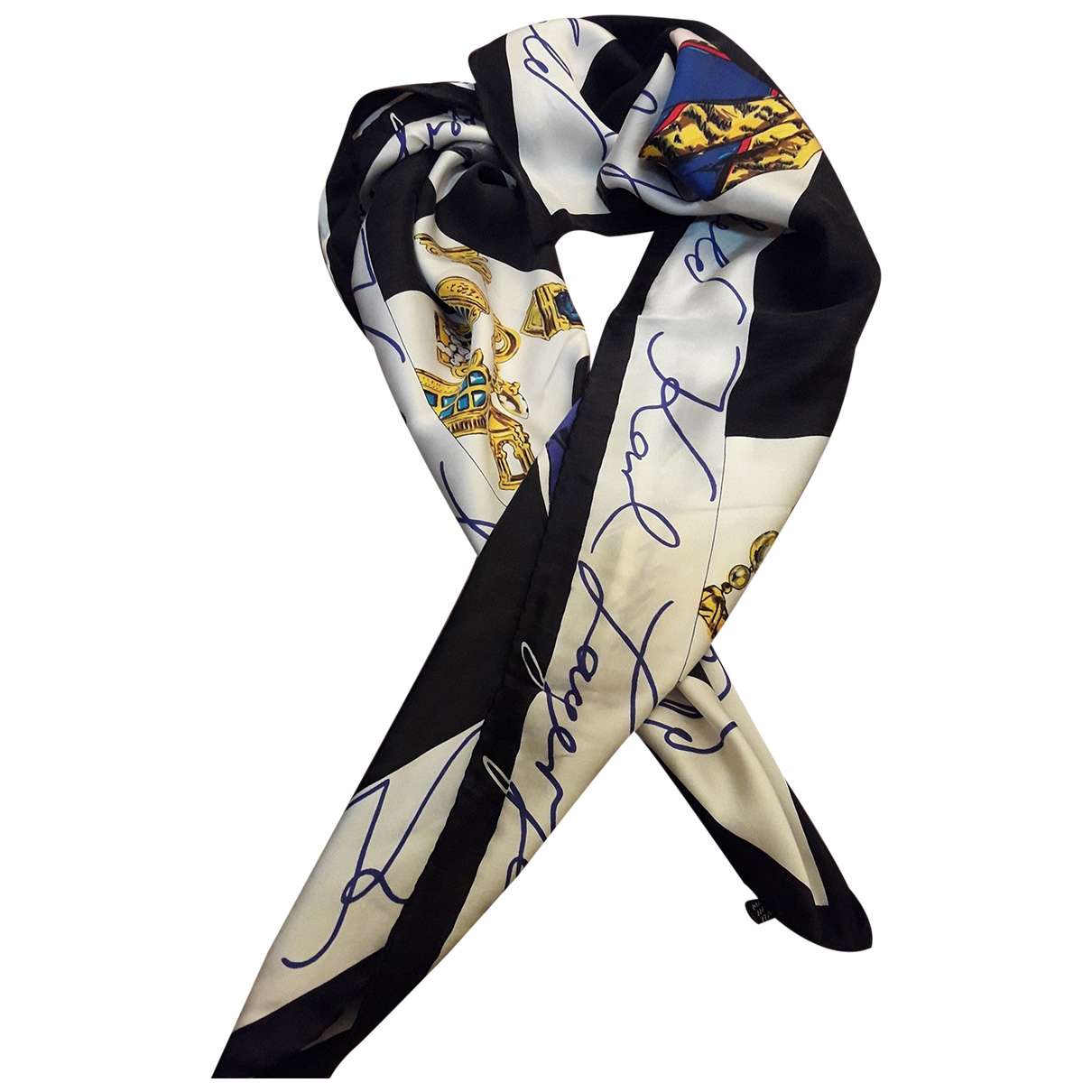 Karl Lagerfeld \N Multicolour Silk scarf for Women \N