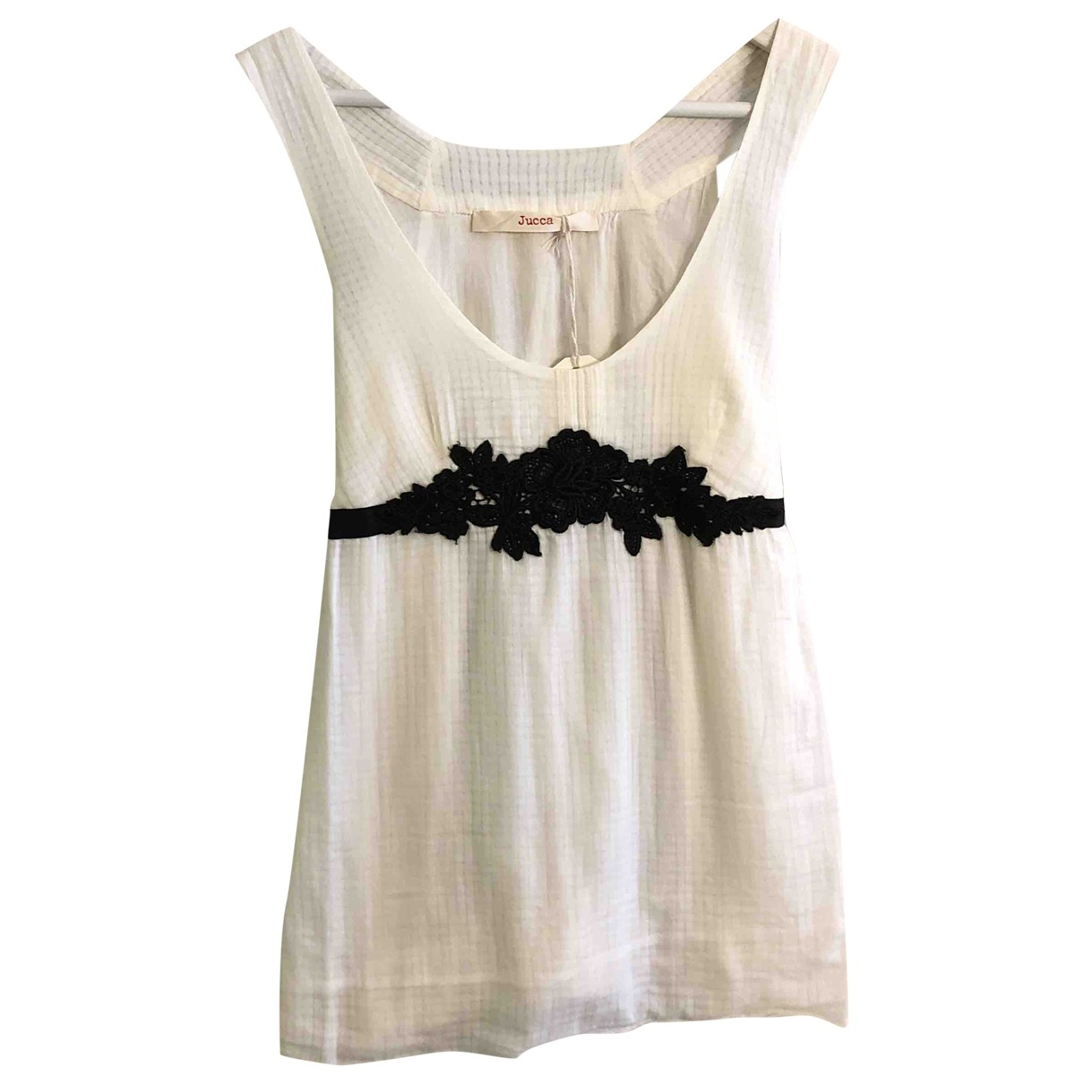 Jucca \N White Cotton  top for Women 44 IT