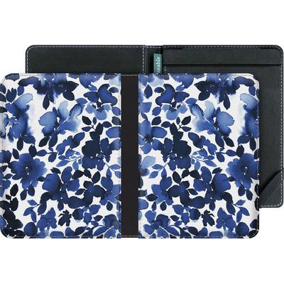 tolino vision 4 HD eBook Reader Huelle - Sophia Blue Floral von Amy Sia
