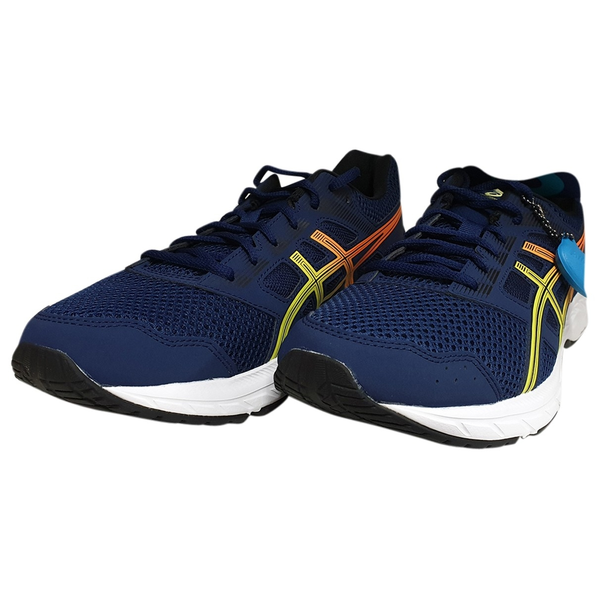 Asics \N Blue Cloth Trainers for Men 44 EU