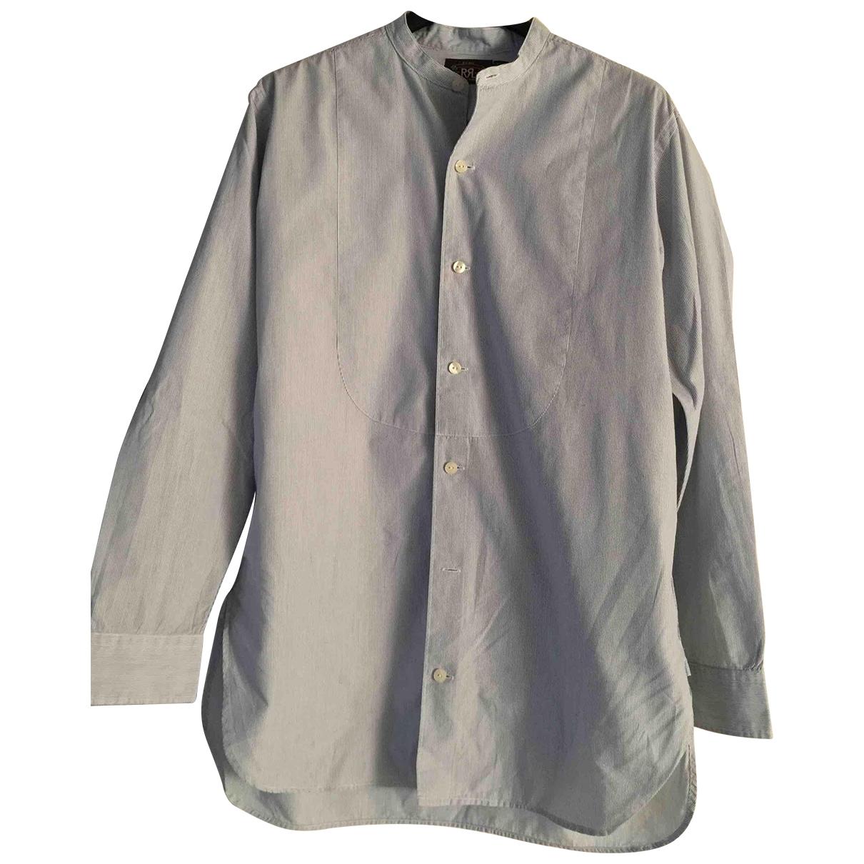 Ralph Lauren - Top   pour femme en coton - bleu