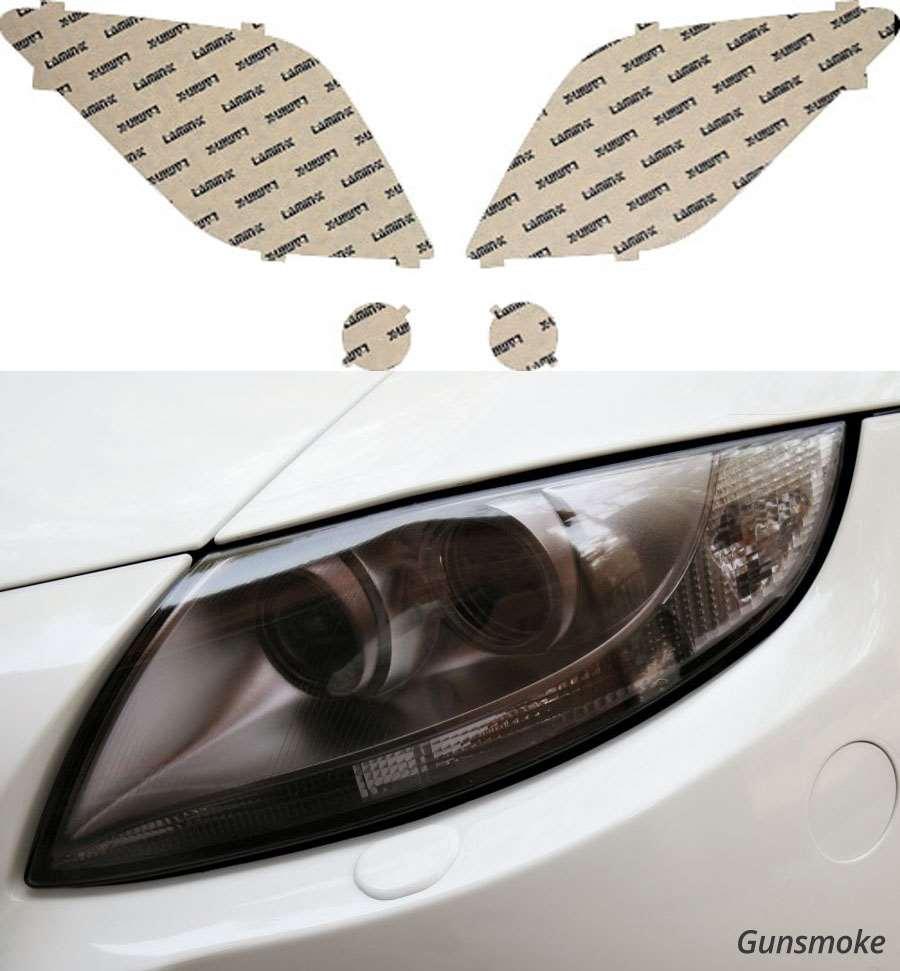 Scion xA 03-06 Gunsmoke Headlight Covers Lamin-X SC002G