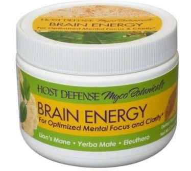 MycoBotanicals Brain Energy Powder 100 Grams by Host Defense