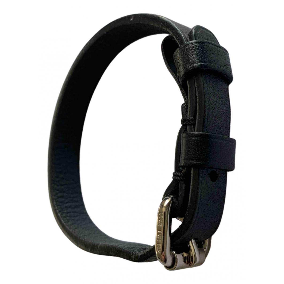 Louis Vuitton \N Armband in  Marine Leder