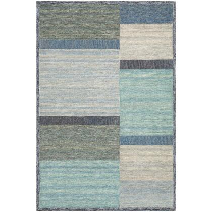 Equilibrium EBM-1007 8' x 10' Rectangle Modern Rug in