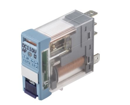 Releco , 110V dc Coil Non-Latching Relay SPDT, 6A Switching Current PCB Mount Single Pole