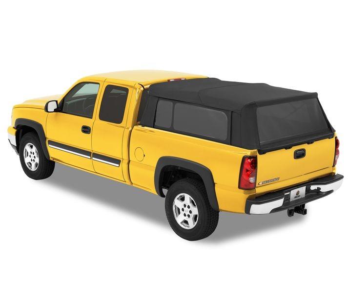 Bestop 76315-35 Black Diamond Supertop for Truck For 8 Ft. Bed Chevrolet Silverado   GMC Sierra   Ford F-150   250   350 1987-2017
