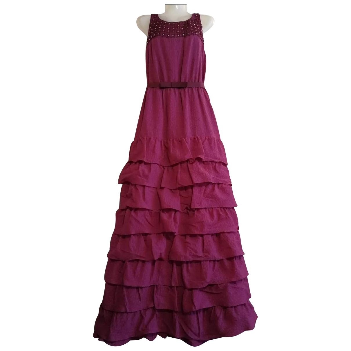 Max Mara \N Kleid in  Rosa Synthetik