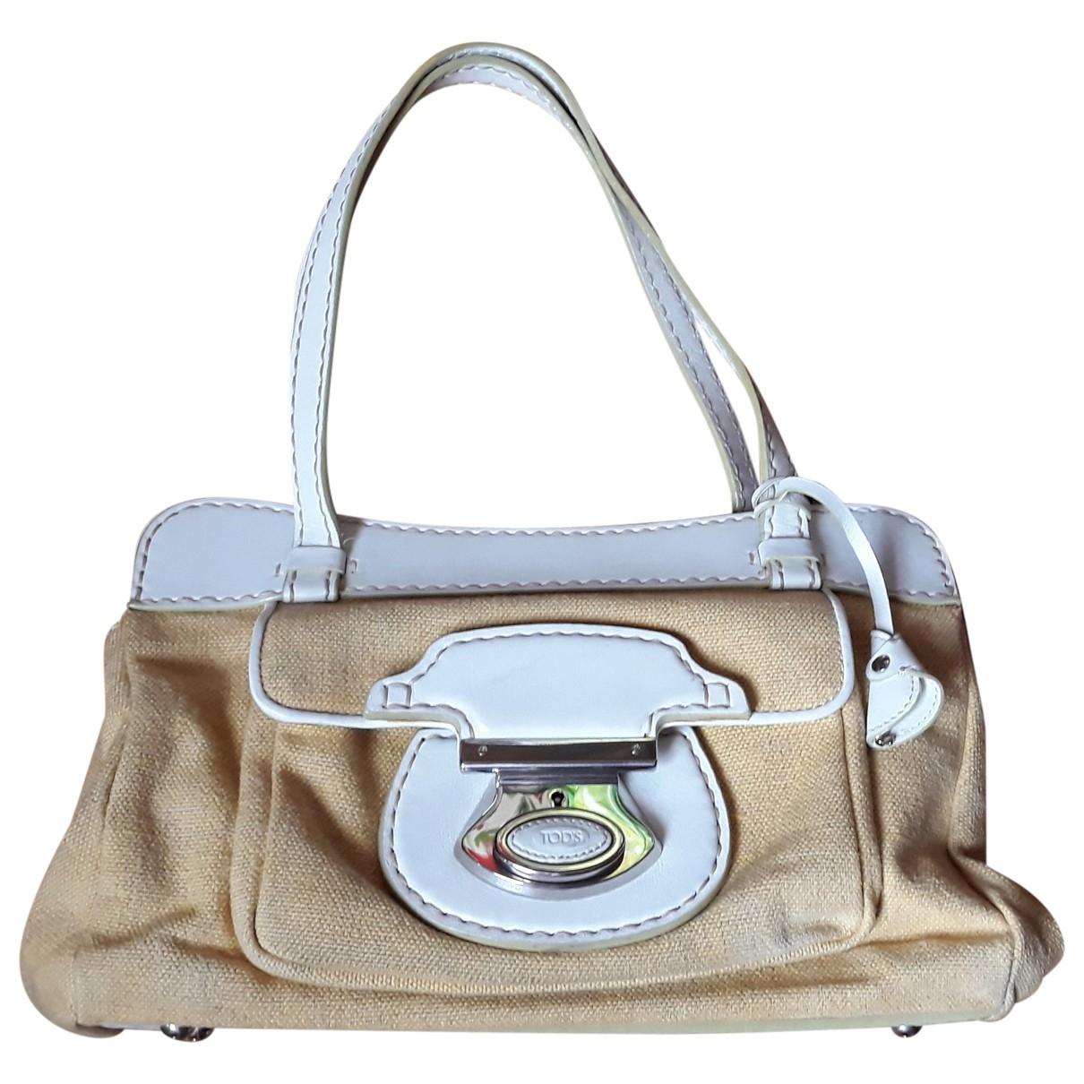 Tod's \N Yellow Leather handbag for Women \N