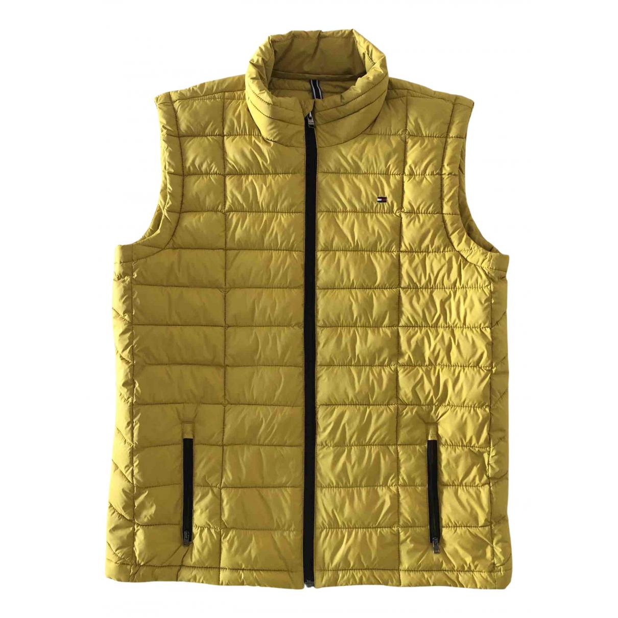 Tommy Hilfiger \N Jacke in  Gelb Polyester