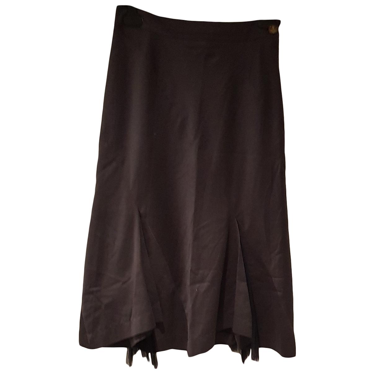Vivienne Westwood \N Brown Cotton skirt for Women 40 FR