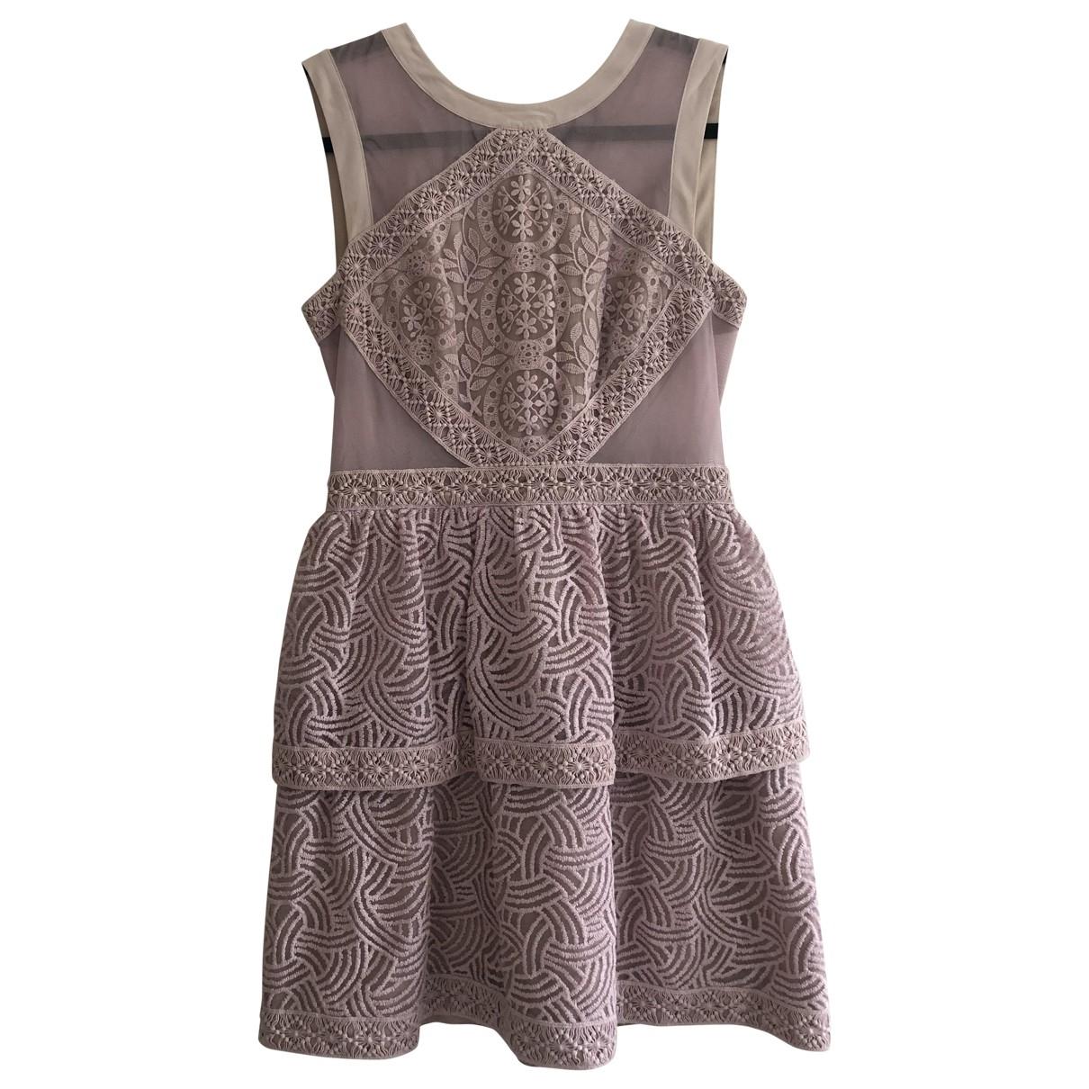 Mini vestido de Encaje Bcbg Max Azria