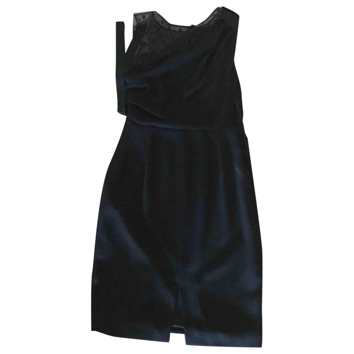 Max Mara - Robe   pour femme en soie - noir
