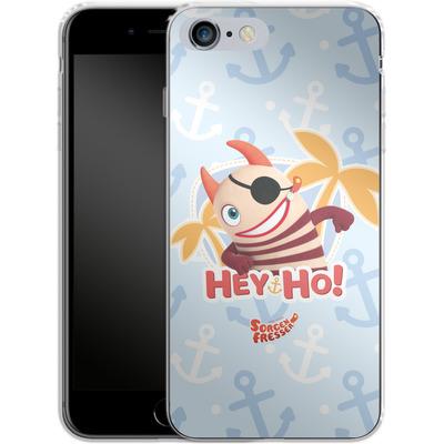 Apple iPhone 6s Plus Silikon Handyhuelle - Sorgenfresser Hey Ho von Sorgenfresser