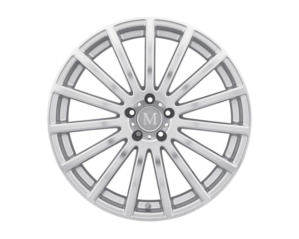 Mandrus Rotec Wheel 17x8 5x112 25mm Silver w/ Mirror Cut Face