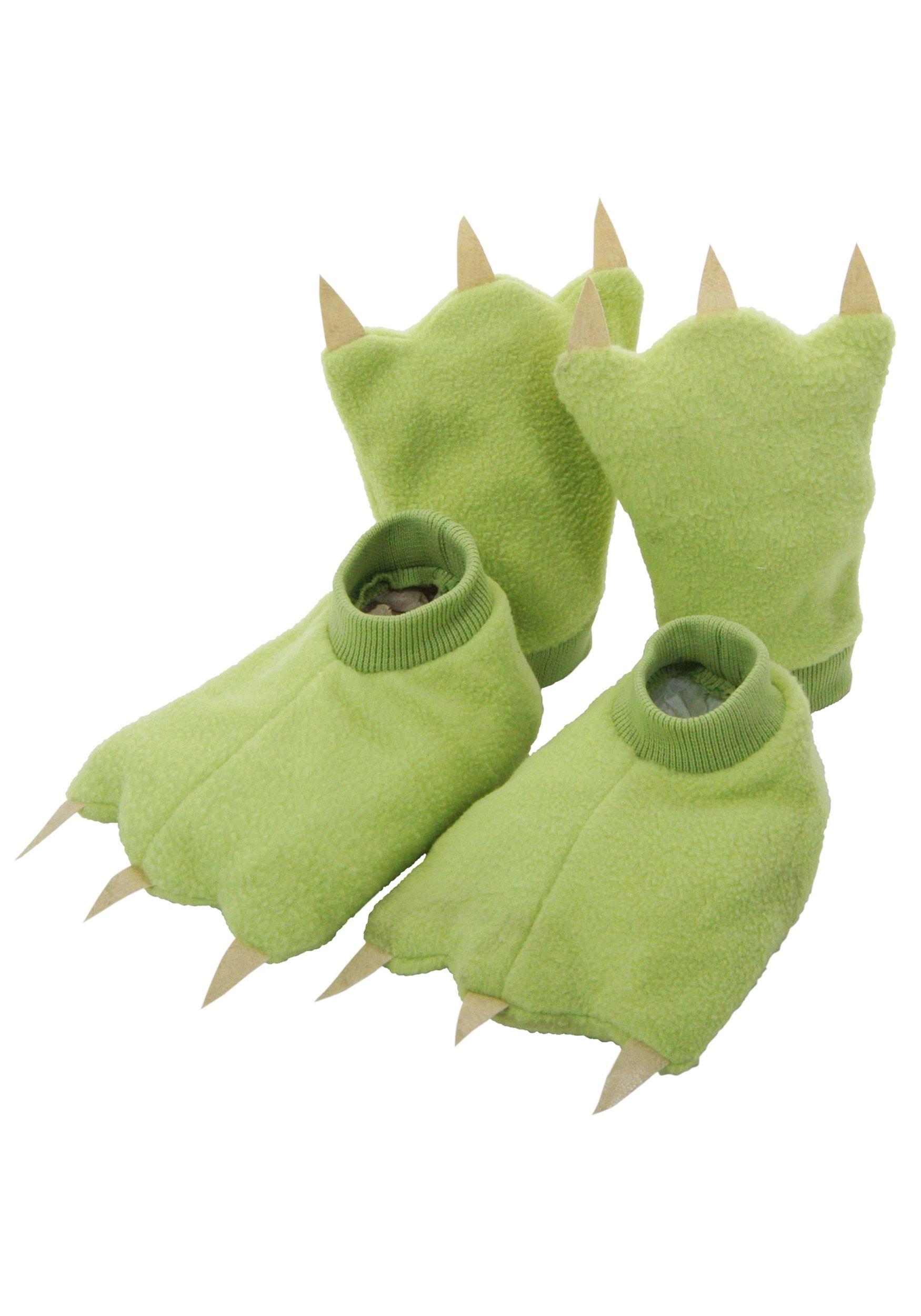 Child Dinosaur Hands & Feet