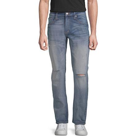Arizona Mens Slim Fit Jean, 29 34, Blue