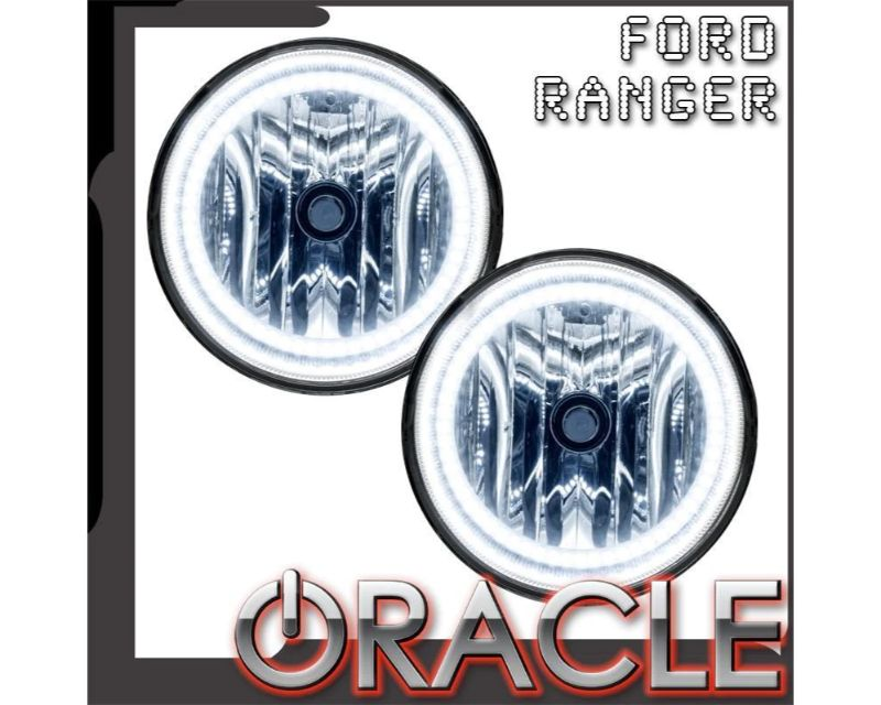 Oracle Lighting 8117-002 Pre-Assembled Fog Lights LED Halo Kit Blue Ford Ranger 2008-2011