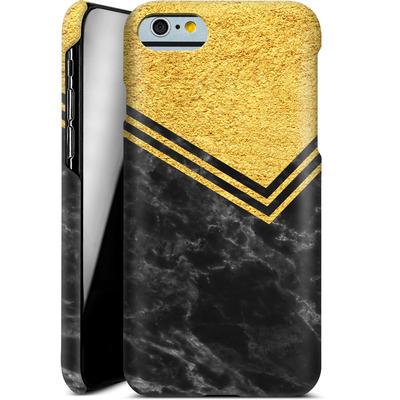 Apple iPhone 6 Smartphone Huelle - Gold Marble von caseable Designs