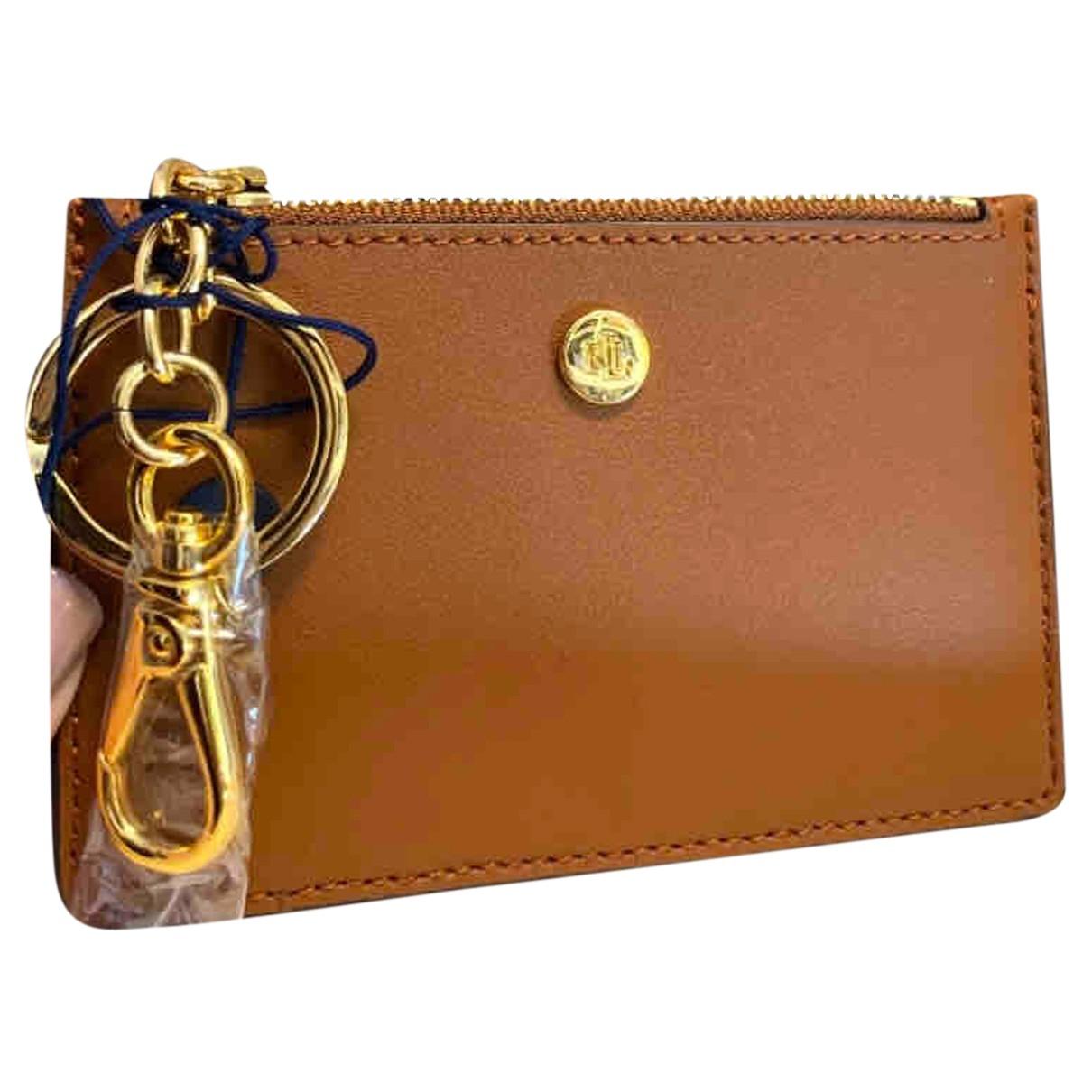 Polo Ralph Lauren N Brown Leather wallet for Women N