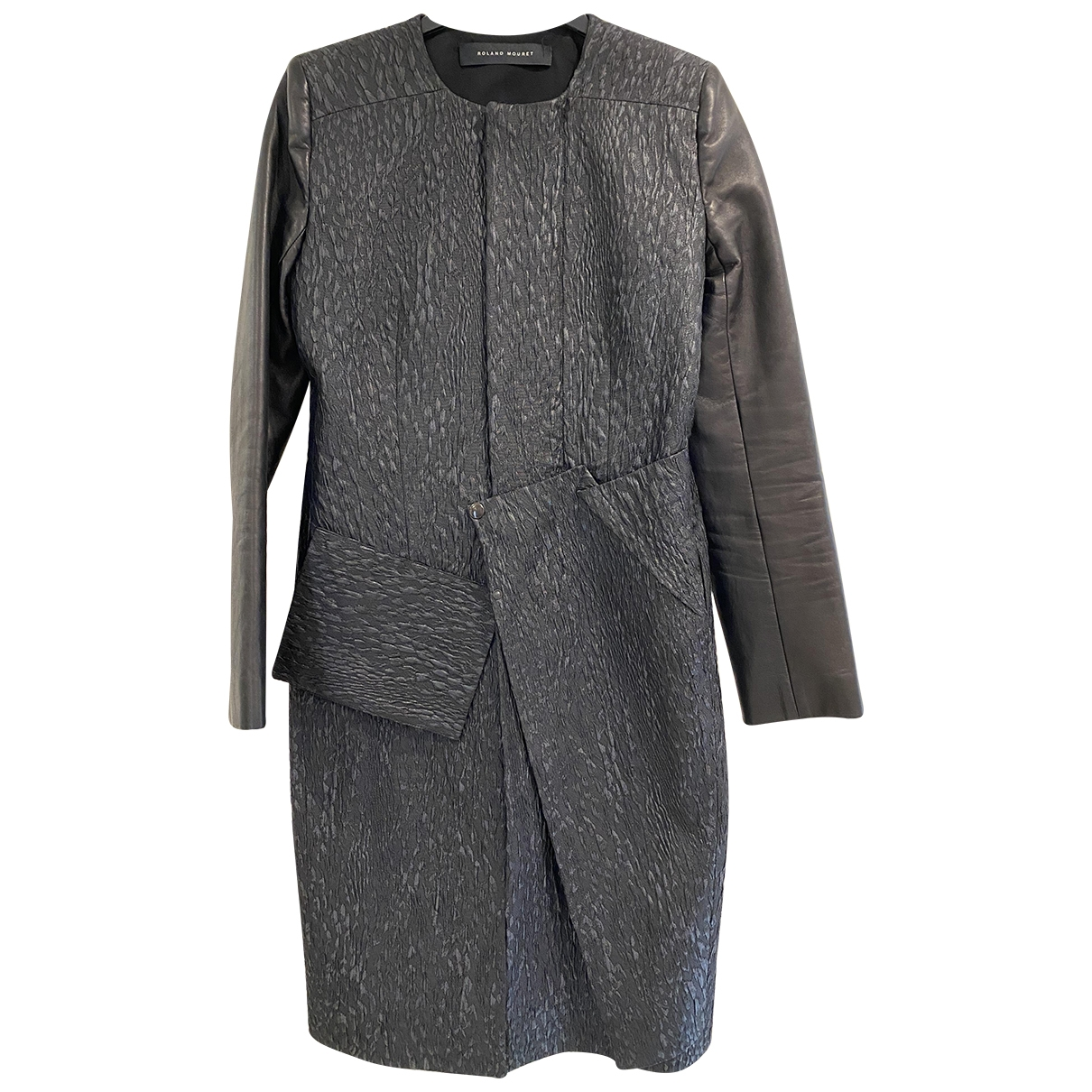 Roland Mouret \N Maentel in  Silber Polyester