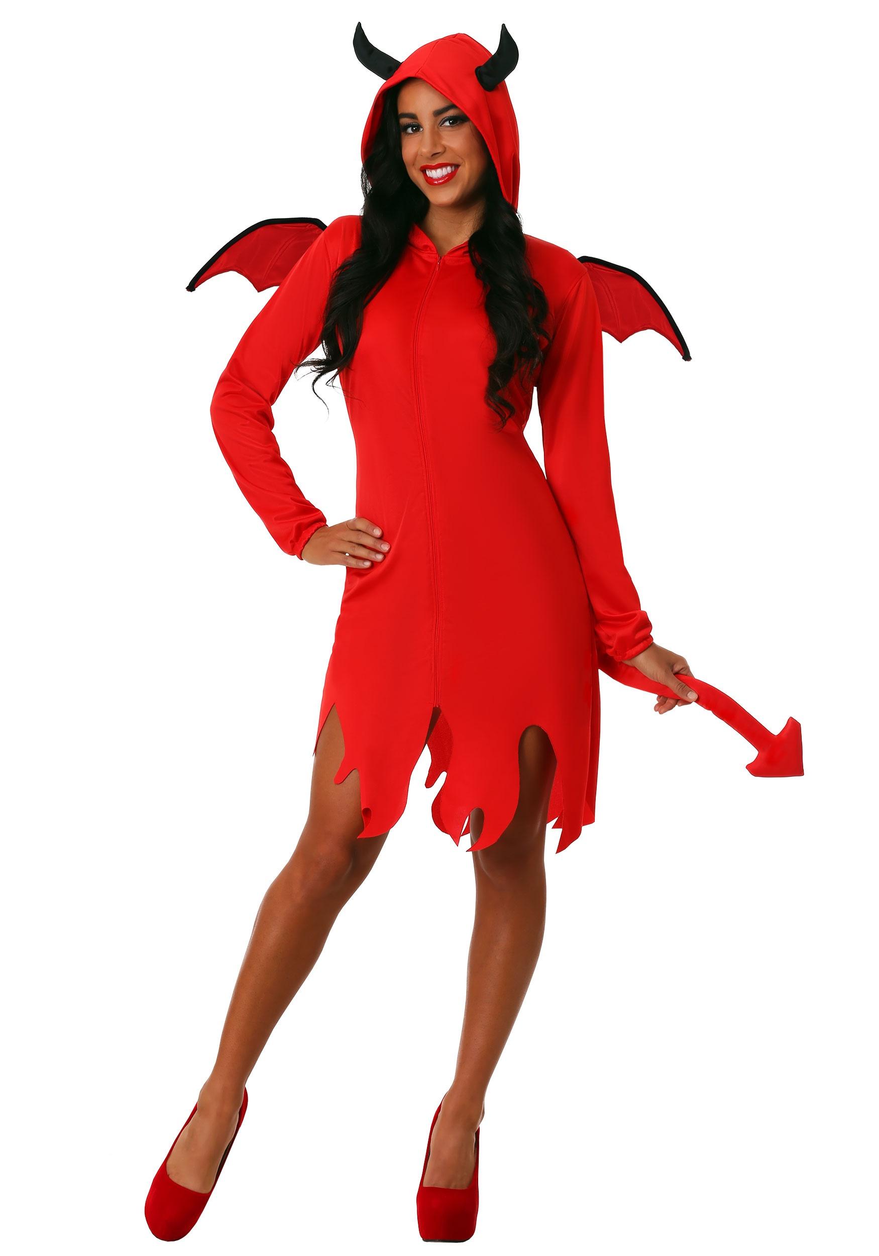 Cute Devil Womens Costume