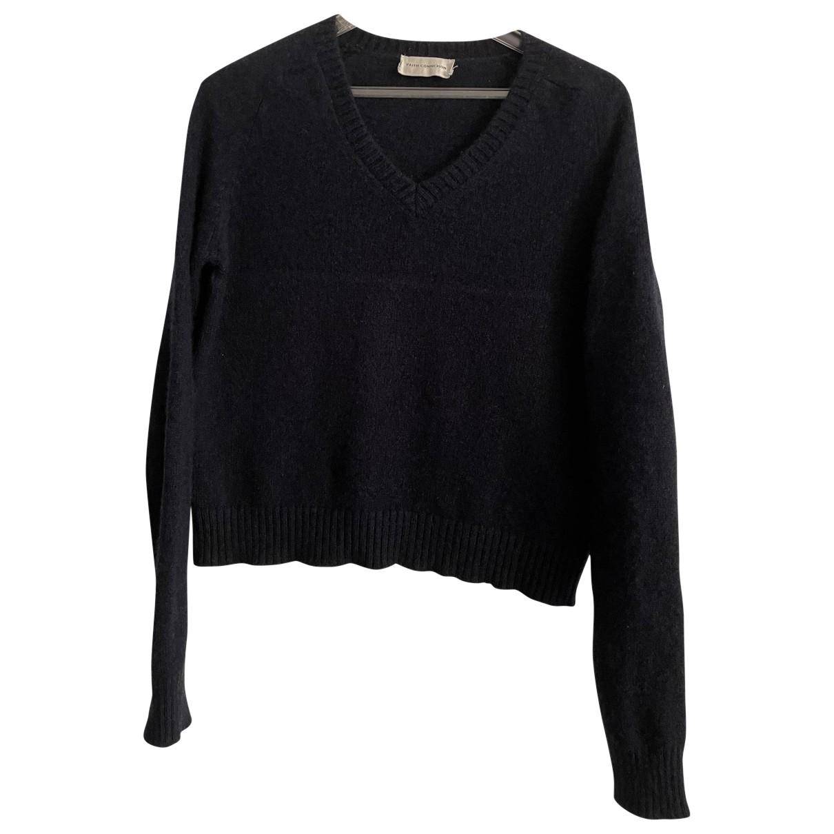 Faith Connexion N Blue Cashmere Knitwear for Women M International