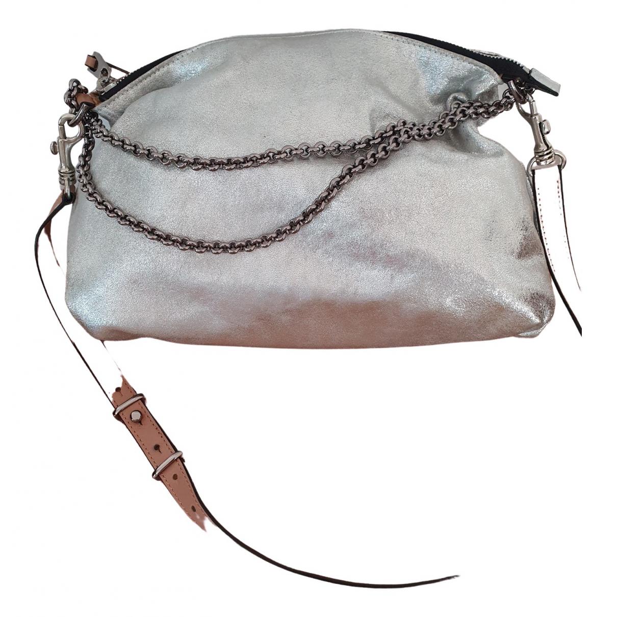 Barbara Bui \N Silver Leather handbag for Women \N
