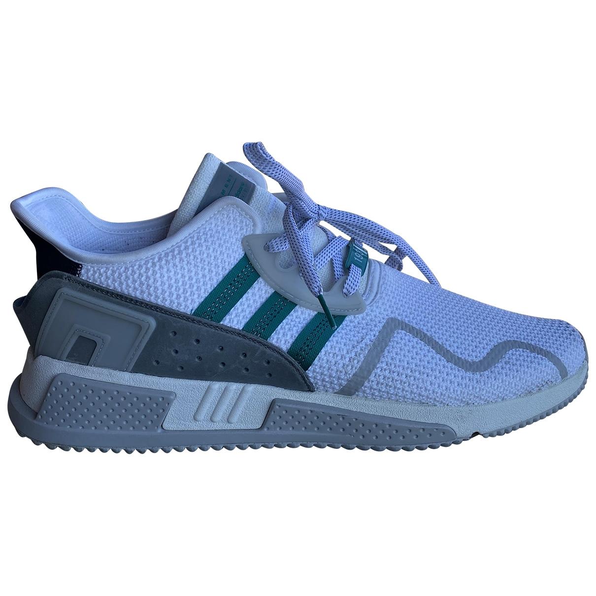 Adidas - Baskets EQT Support pour homme en toile - blanc