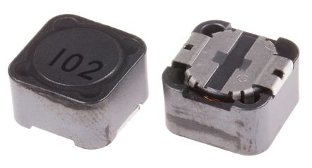 RS PRO , 27 Shielded Wire-wound SMD Inductor 1 mH ±20% Wire-Wound 550mA Idc (5)