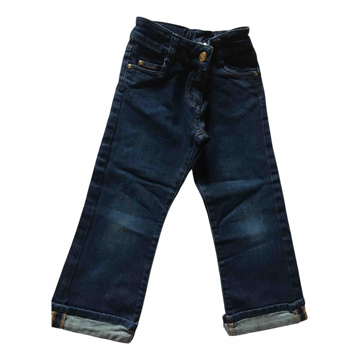 Baby Dior - Pantalon   pour enfant en denim - bleu