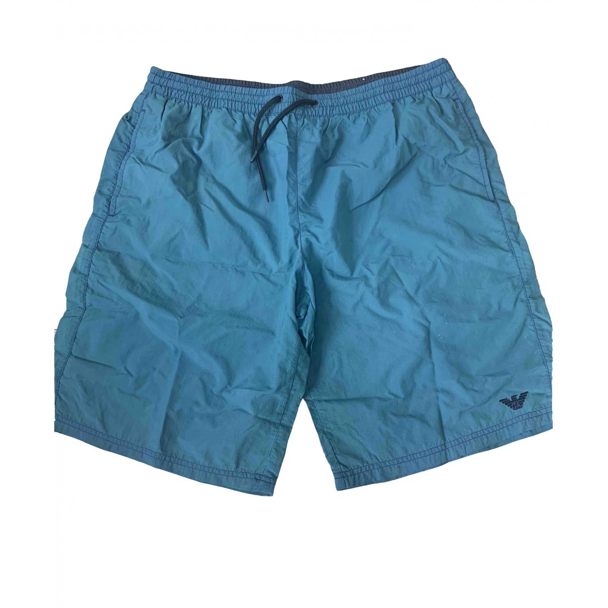 Emporio Armani \N Badeanzug in  Blau Synthetik