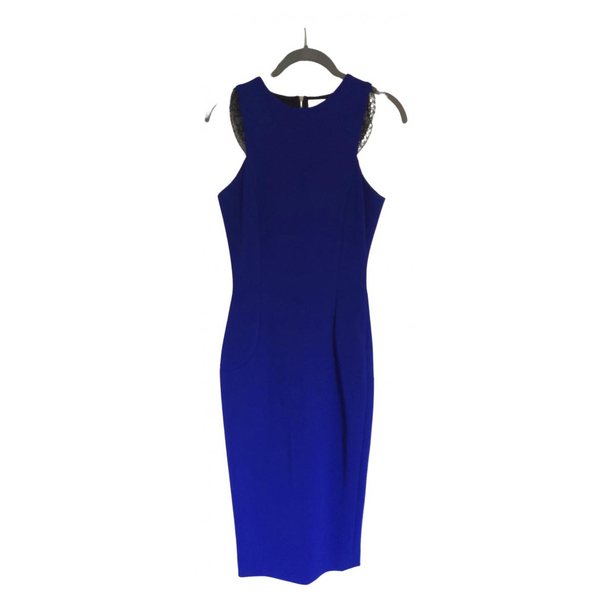 Victoria Beckham \N Kleid in  Blau Viskose