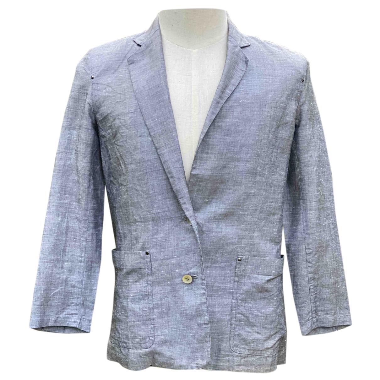 Issey Miyake \N Anthracite Cotton jacket for Women L International