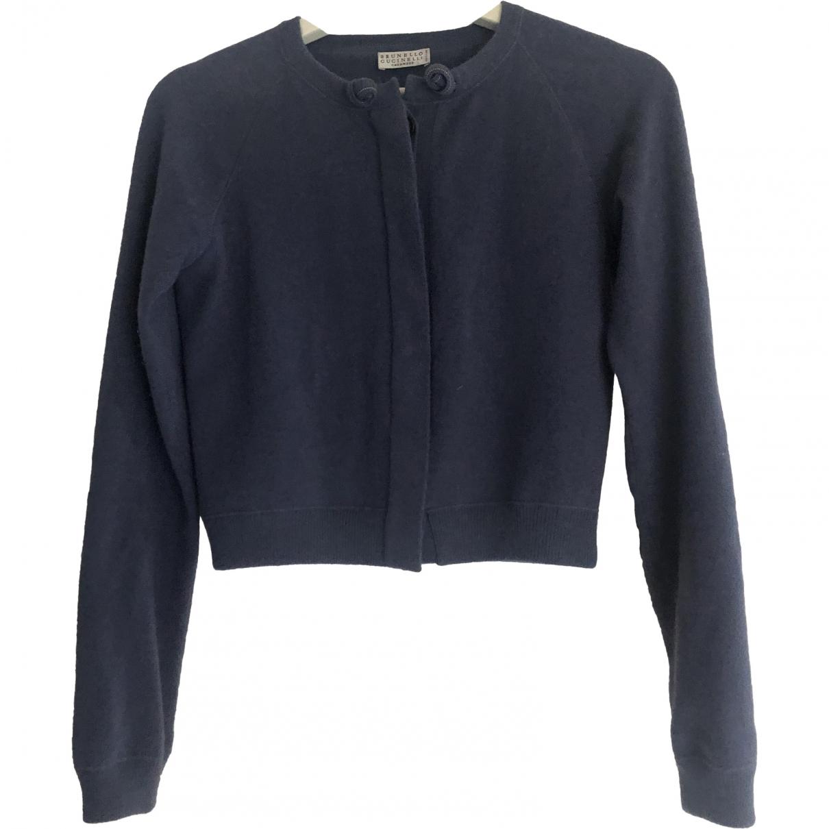 Brunello Cucinelli \N Blue Cashmere Knitwear for Women S International