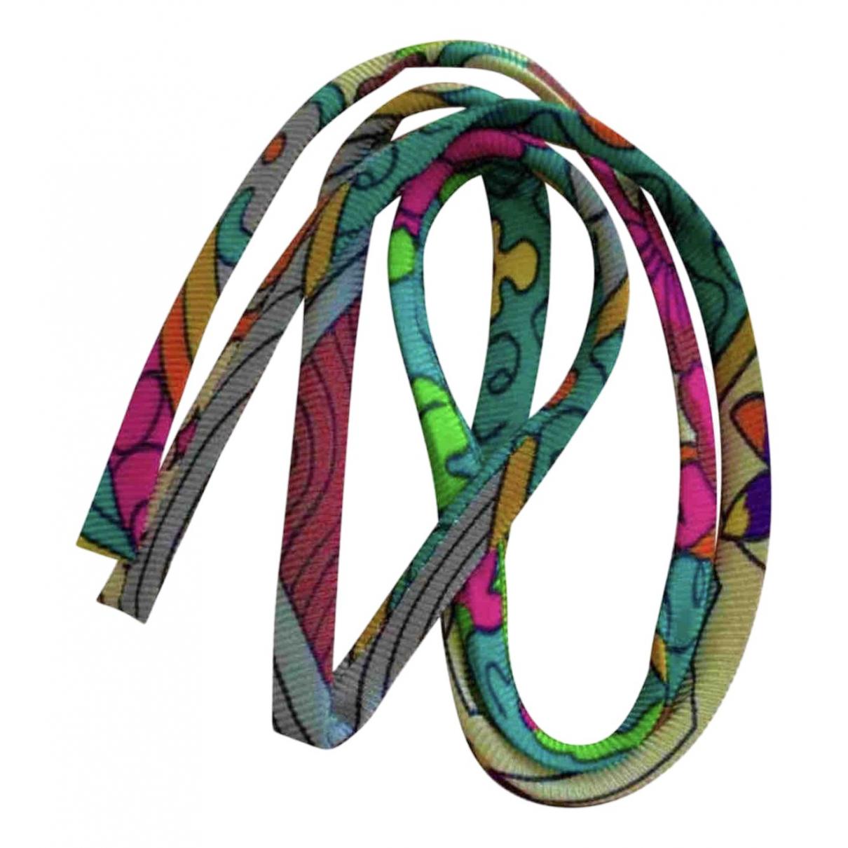 Hermès \N Multicolour Silk bracelet for Women \N