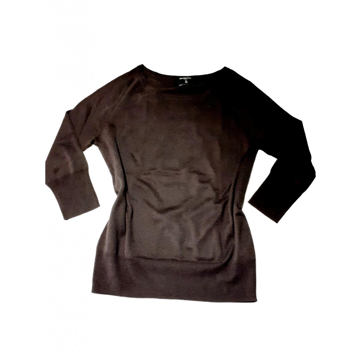 Massimo Dutti \N Brown Silk Knitwear for Women S International