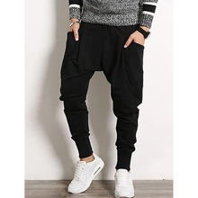 Men Dual Pocket Sweatpants