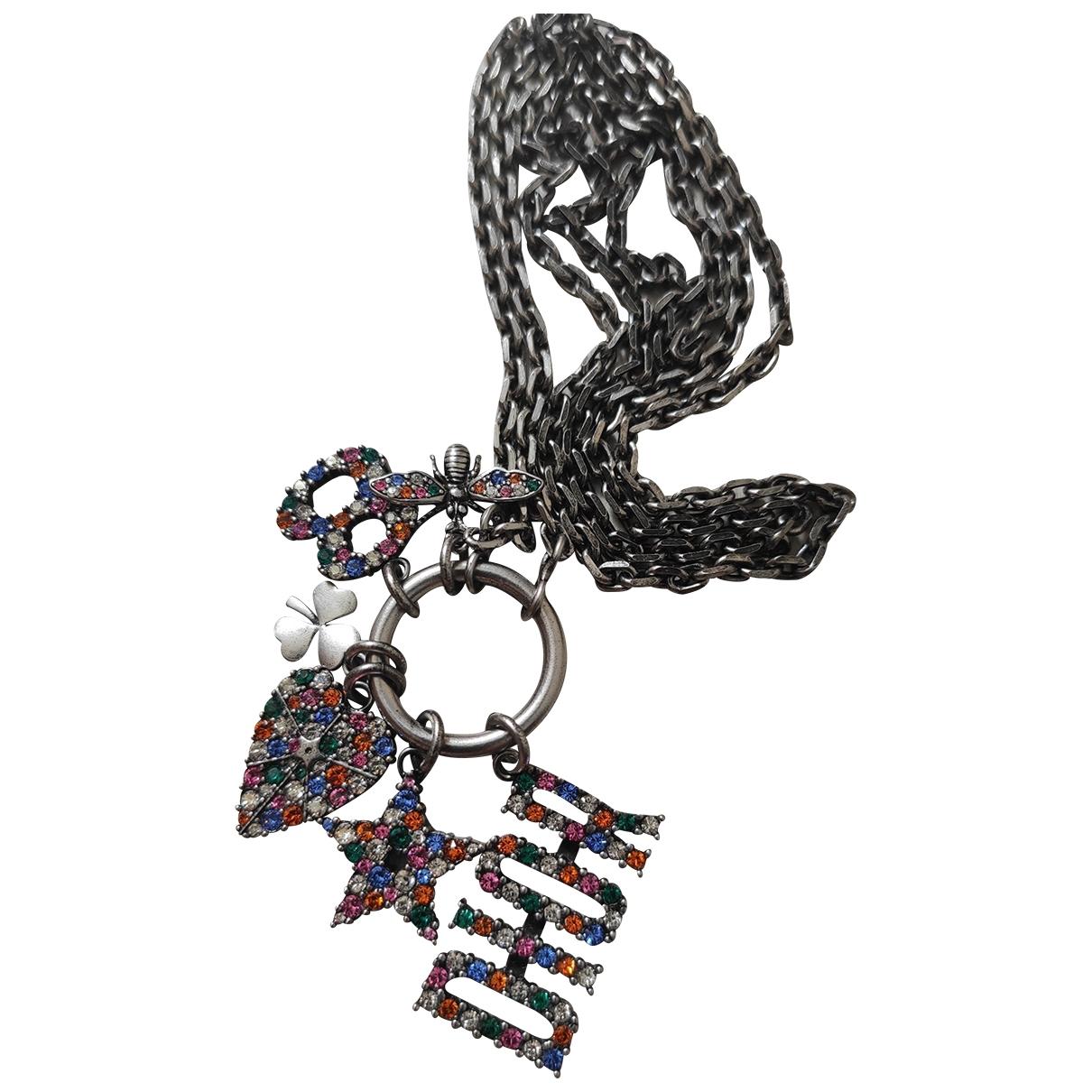 Dior - Sautoir Monogramme pour femme en metal - argente