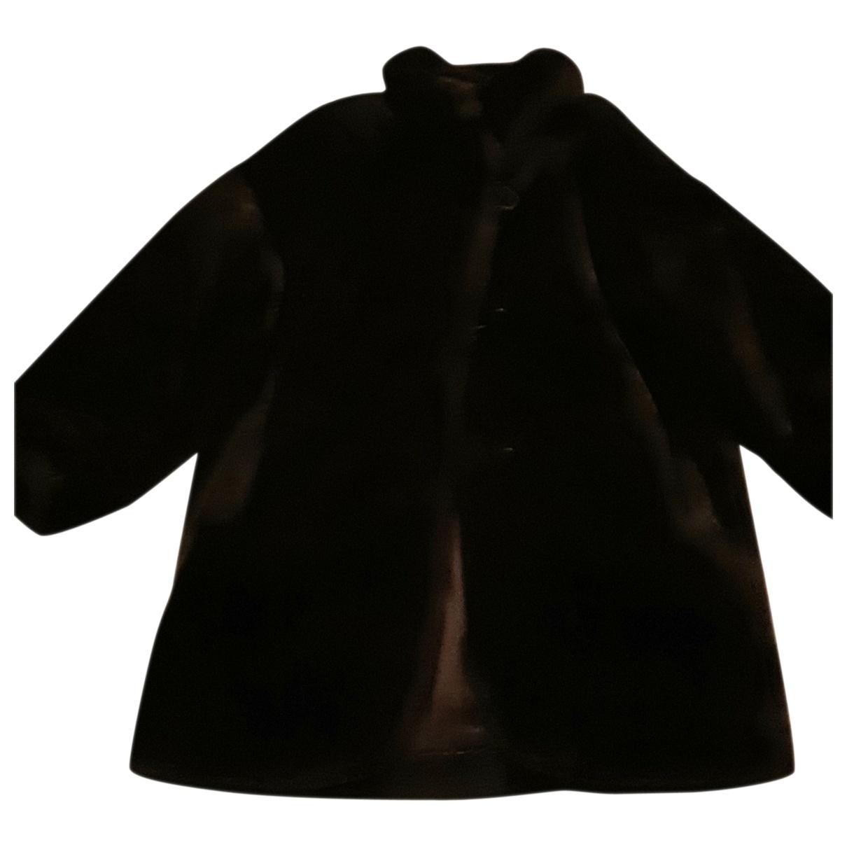 Non Signé / Unsigned \N Brown Faux fur coat for Women 38 FR