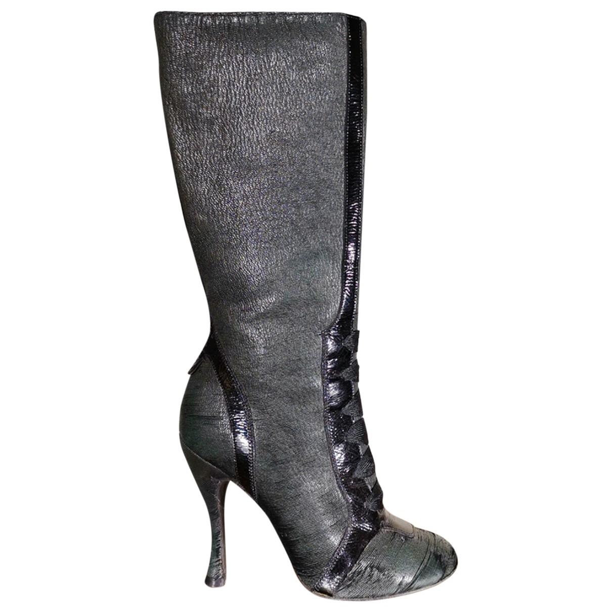 Rochas - Bottes   pour femme en cuir