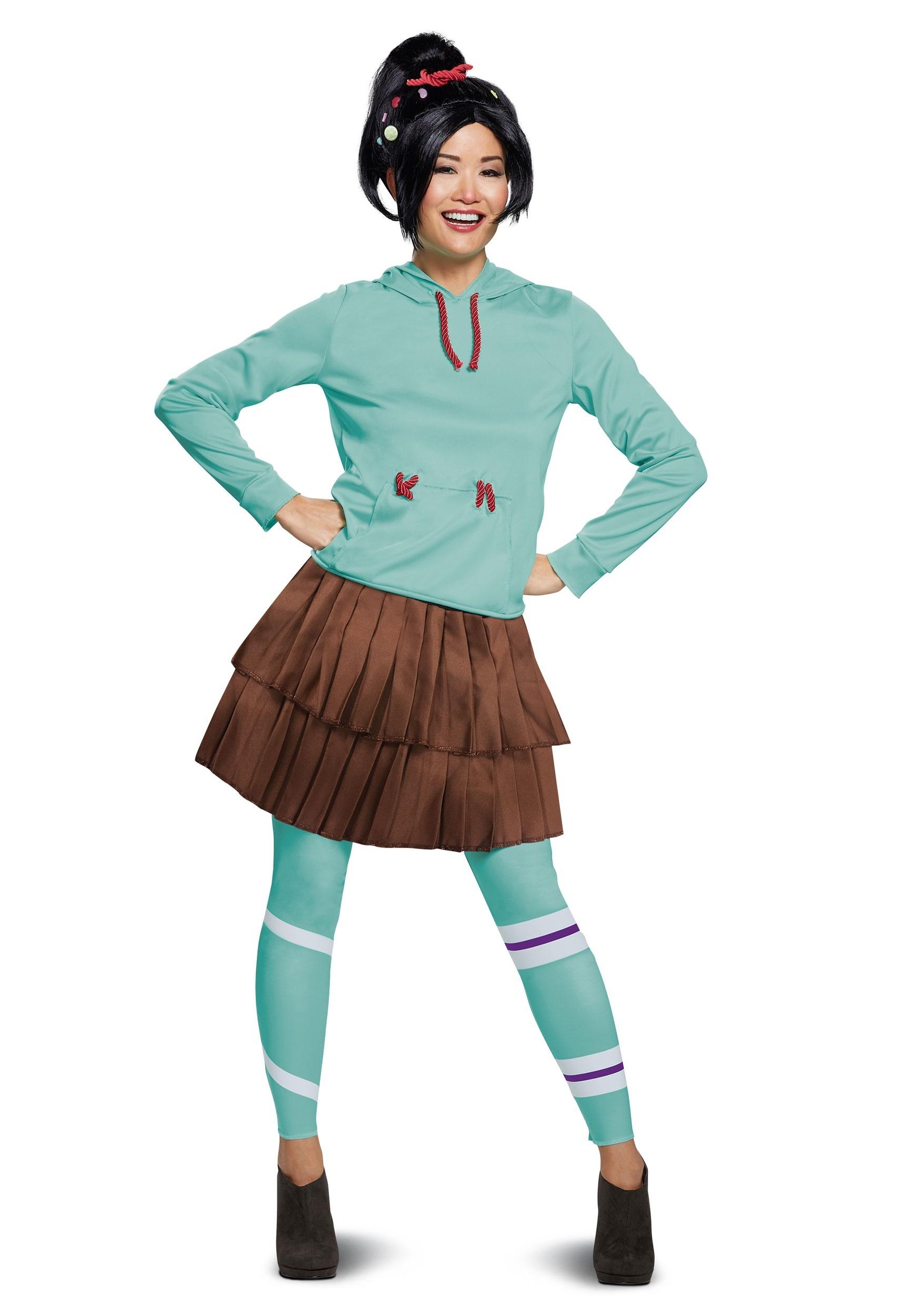 Wreck It Ralph 2 Deluxe Vanellope Costume for Women