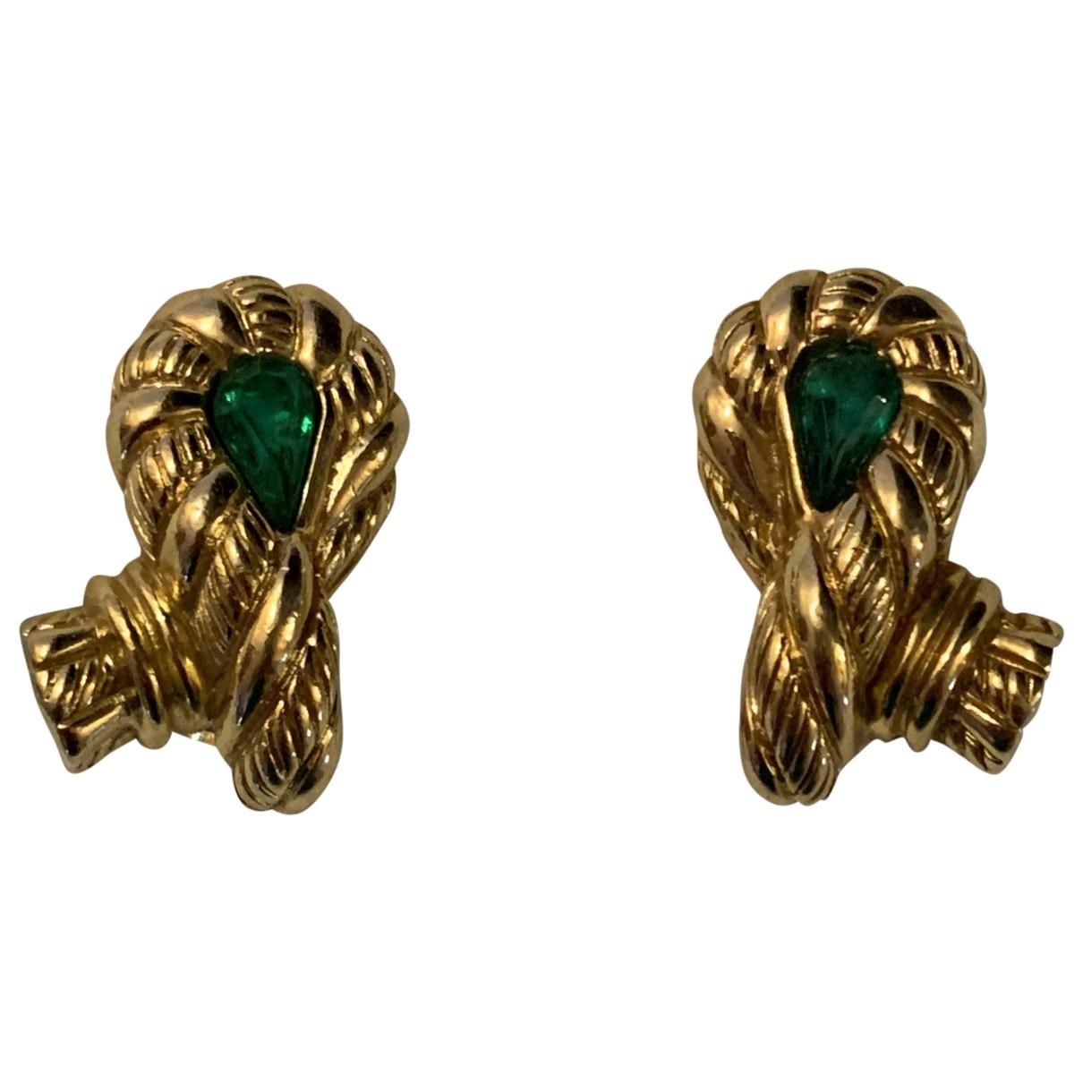 Grosse N Gold Metal Earrings for Women N