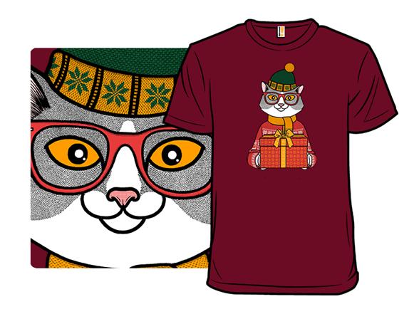 Meowy Christmas T Shirt
